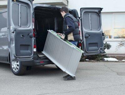 Oprijplaat Wm Mobile lengte 225cm, breedte 40cm tot 300KG