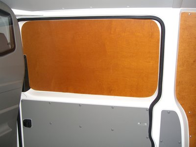 Zijdeurpaneel boven of onder voor kleine en middelgrote wagens