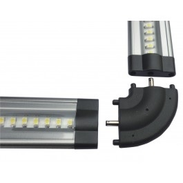 Hoek connector, geschikt voor het led flatprofiel
