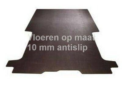 Opel Combo L1 vanaf 2019 10mm antislip betonplex vloer op maat