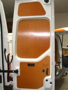 Set achterdeur panelen onder Movano L1H1