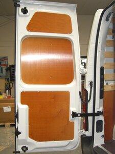 Set achterdeur panelen boven Movano L1H1 DC